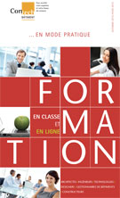 Brochure Formations Contech - Automne 2014- Hiver 2015