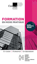 Brochure Formations Contech - Hiver-Printemps 2020